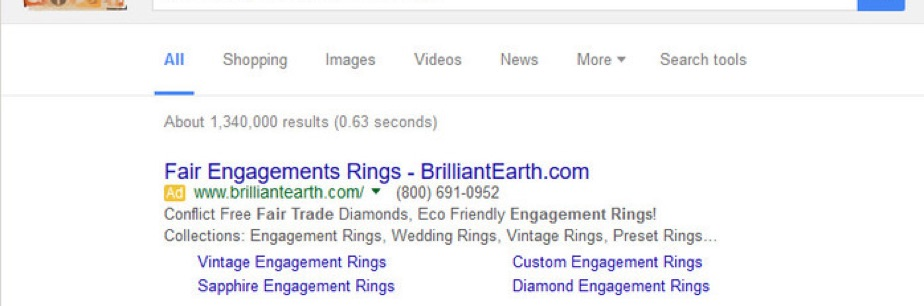 "Brilliant Earth's online ads mention ""fair trade diamonds""—which do not exist!"