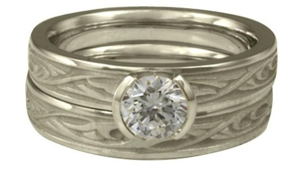 What Is The Average Width Of A Womens White Gold Wedding Ring