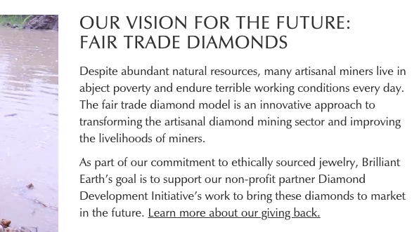 Brilliant Earth has placed a lot of stock in the Diamond Development Initiative (DDI)—which has yet to produce a fair trade diamond, 15 years into its inception.