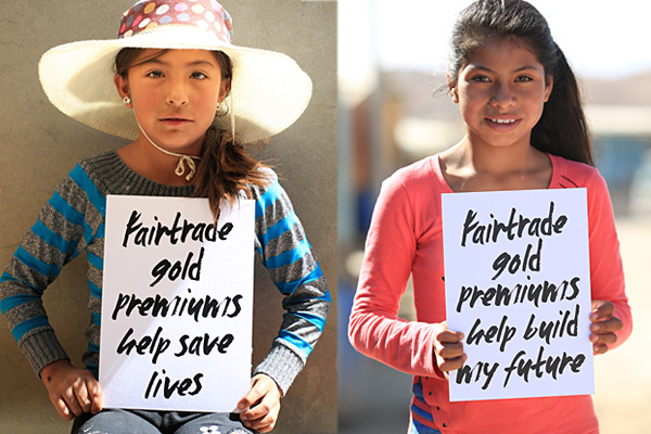 Fairtrade Gold is the most precious gold in the world.
