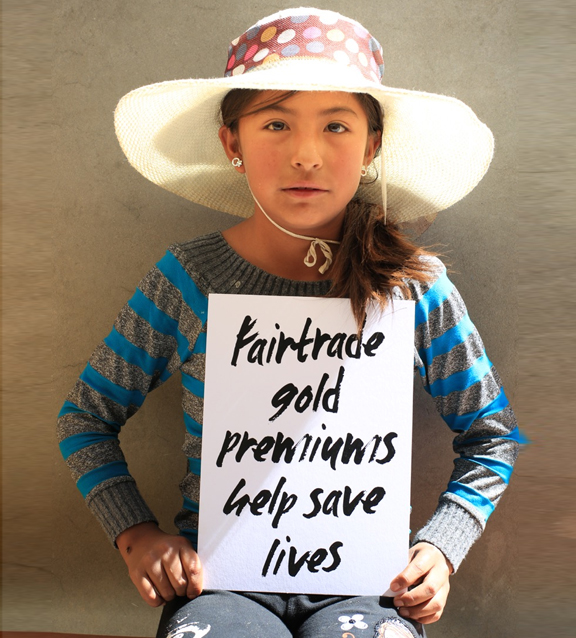 Fairtrade Gold not only ensures a fair price is paid for gold, but entails additional social premiums that are directly fed back to the mining community,
