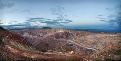 The Morenci mine in Arizona.