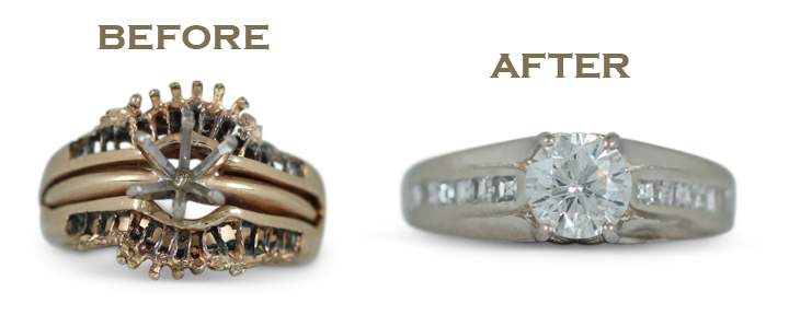 Redesigning a ring inherited from your grandmother can be a beautiful way to honor her memory, while staying true to your own sense of style.