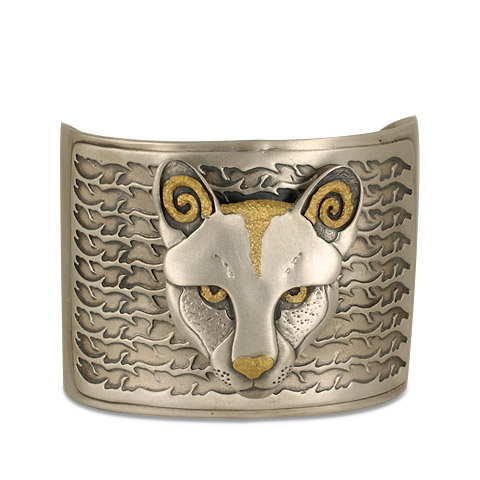 Mountain Lion Cuff Bracelet in