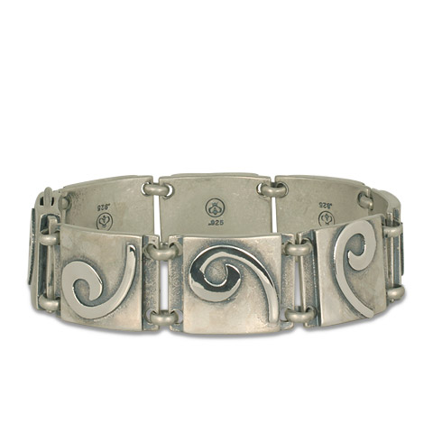 Industrial Swirl Bracelet Small in