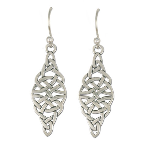 Kalisi Earrings Silver in Sterling Silver