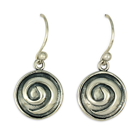 Swirl Earrings in