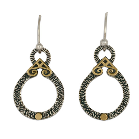 Shona Medallion Earrings in
