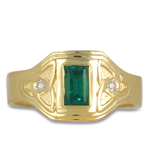 One-of-a-Kind Aria Emerald Ring in