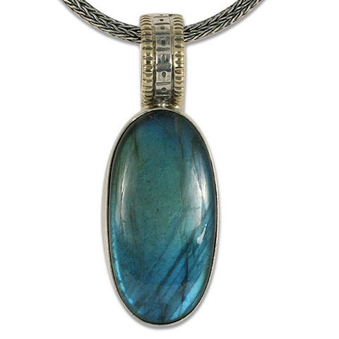One-of-a-Kind Solaris Labradorite Pendant in