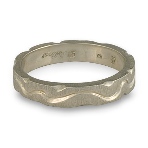 Arroyo Ring in 14K White Gold