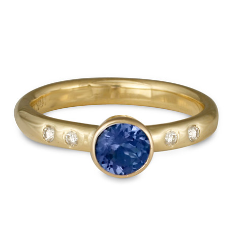Simplicity Engagement Ring in Sapphire