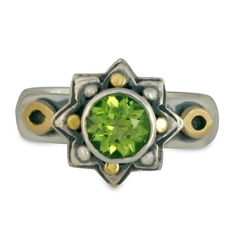 Sunrope Ring in Peridot