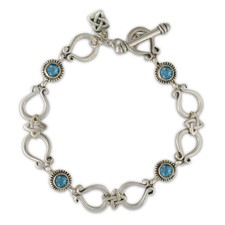 Andalusia Bracelet in Swiss Blue Topaz