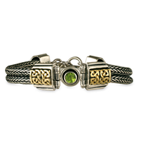 Renee Bracelet in Peridot