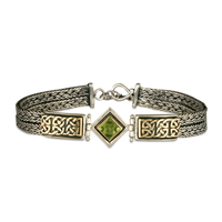 Iona Bracelet with Gem in Peridot