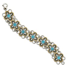 Vega Bracelet in Swiss Blue Topaz