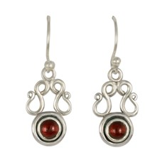 Manasa Earrings in Sterling Silver