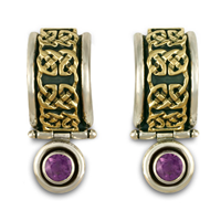 Renee Earrings in Amethyst