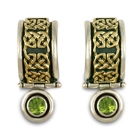 Renee Earrings in Peridot
