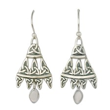 Cairn Earrings in Sterling Silver