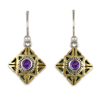 Medina Earrings in Amethyst