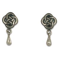 Sita Drop Earrings in Sterling Silver