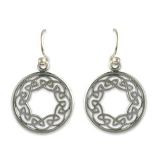 Petra Earrings  in Sterling Silver