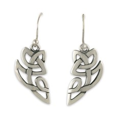 Aegis Earrings in Sterling Silver