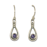 Droplet Earrings in Sterling Silver