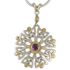 Arbor Dangle Pendant in Amethyst