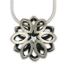 Mira Pendant in Sterling Silver