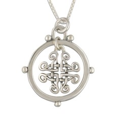 Taliesin Pendant in Sterling Silver