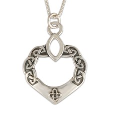 Anam Cara Pendant in Sterling Silver