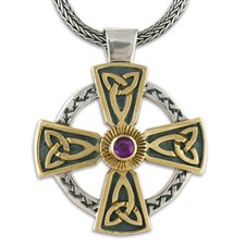 Grant s Cross  in Amethyst