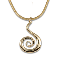 Vox Mundi Pendant Gold in 14K Yellow Gold