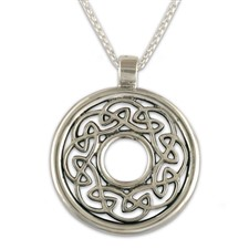 Petra Pendant in Sterling Silver