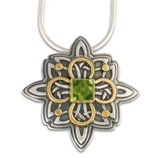 Southern Star Pendant in Peridot