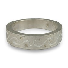 Anima Romantica Ring in 14K White Gold