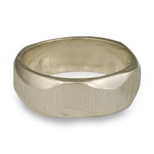 Rio Ancho Ring in 14K White Gold