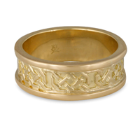 Shannon Wedding Ring in 14K Yellow Gold