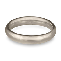 Classic Comfort Fit Wedding Ring 4mm in Platinum