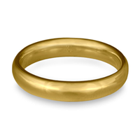 Classic Comfort Fit Wedding Ring 4mm in 14K Yellow Gold