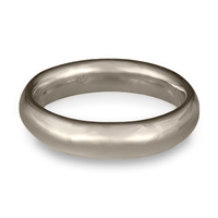 Classic Comfort Fit Wedding Ring 5mm in Palladium