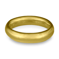 Classic Comfort Fit Wedding Ring 5mm in 14K Yellow Gold