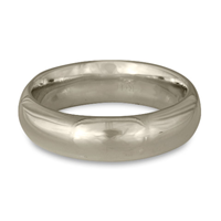 Classic Comfort Fit Wedding Ring 6mm in Palladium