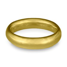 Classic Comfort Fit Wedding Ring 5x2mm in 18K Yellow Gold