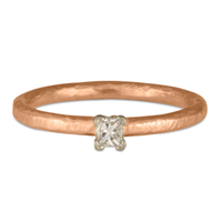 Playa Engagement Ring in 18K Rose Gold