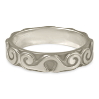 Borderless Ravena Wedding Ring in Palladium