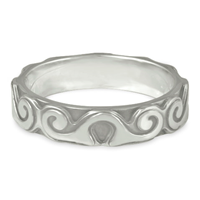 Borderless Ravena Wedding Ring in Platinum
